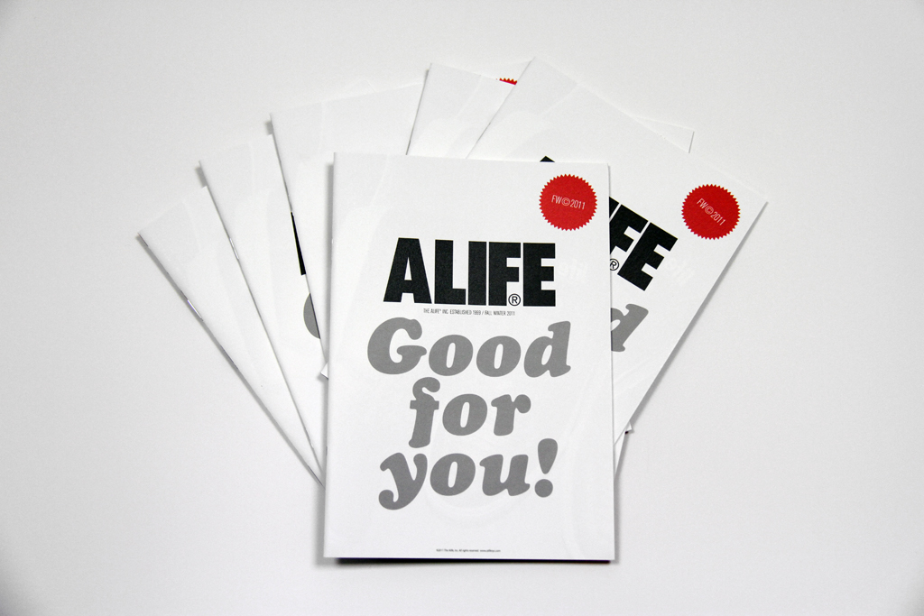 alife x hidden champion 2011 fallwinter good for you book