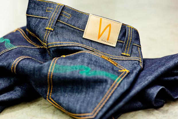 "Atrium x Nudie Jeans ""The Green Apple"" Denim"