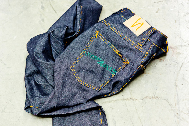 atrium x nudie jeans the green apple denim