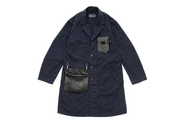 B Jirushi Yoshida x Porter Narita Airport GS Shop Coat