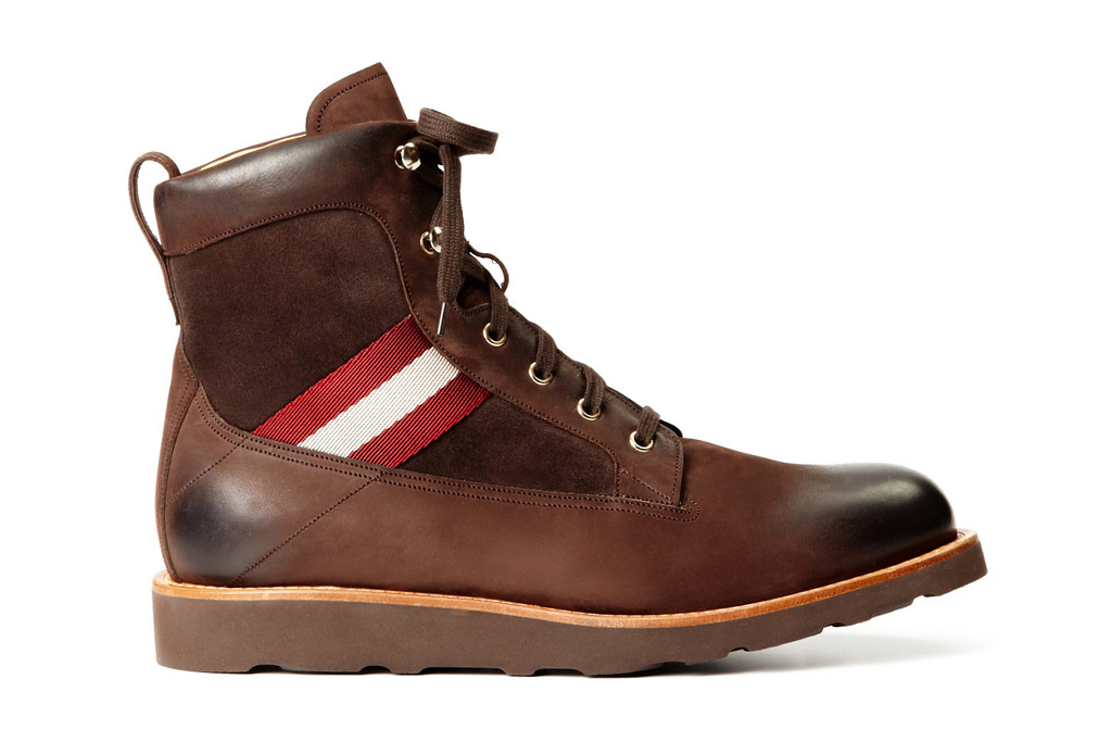 Bally Grosgrain Hiking Boots