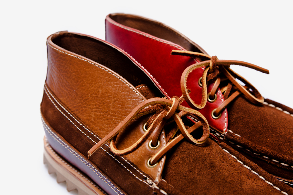 Beauty & Youth Moccasin Chukka