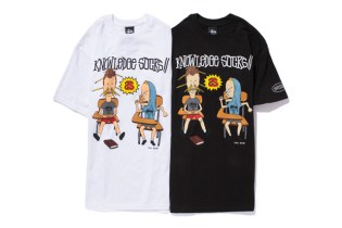 Beavis and Butt-Head x Stussy T-Shirts