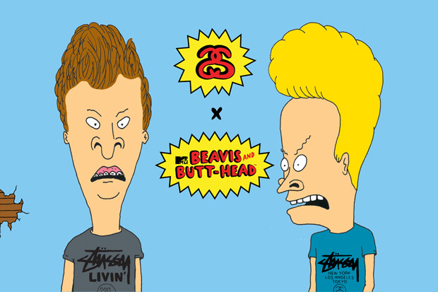 Beavis & Butt-Head x Stussy Announcement