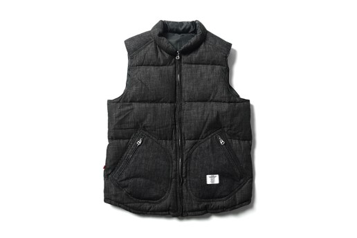 "BEDWIN & THE HEARTBREAKERS ""Fripp"" Reversible Down Vest"