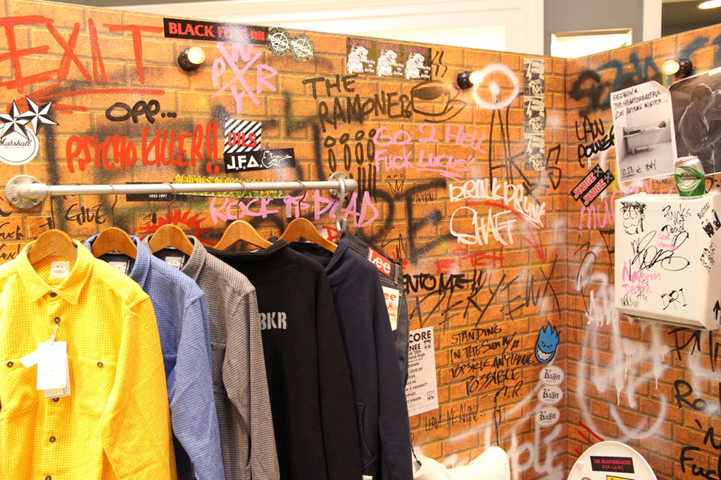bedwin the heartbreakers installation beauty youth united arrows shibuya