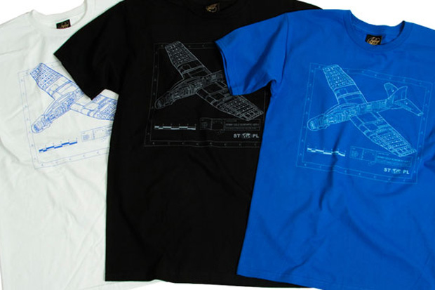 "Staple Design x Benny Gold ""The Glider Plane"" Series T-Shirt"