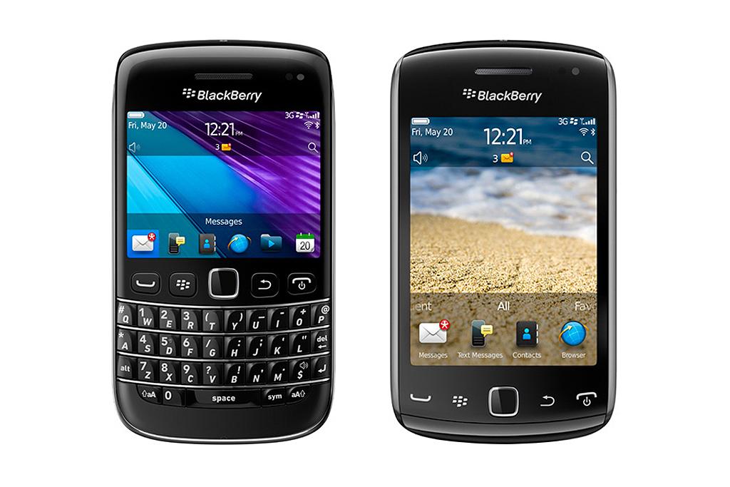 BlackBerry Bold 9790 & BlackBerry Curve 9380 Smartphones