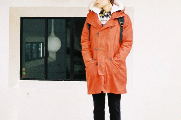 Boychics Neon Military Mountain Parka