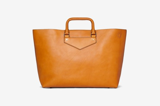 Burberry Prorsum Leather Tote Bag