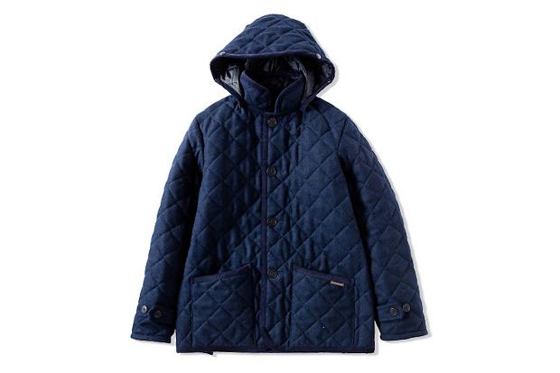 cash ca x lavenham hrbn wool hoody