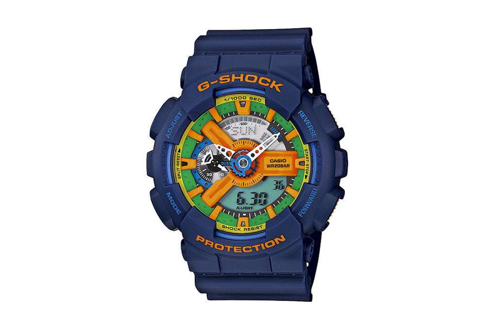 Casio G-Shock 2011 Crazy Colors Collection