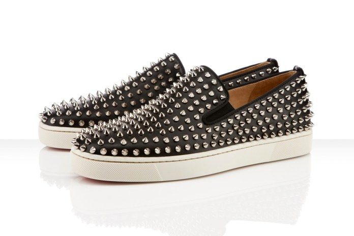 Christian Louboutin 2012 Spring/Summer Roller-Boat Spikes
