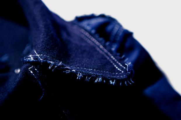 COMME des GARCONS SHIRT Rugged Pea Coat