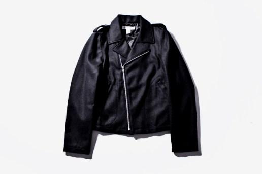 COMME des GARCONS SHIRT Wool Biker Jacket
