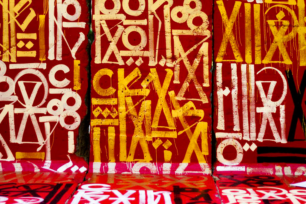 "D*Face & RETNA ""Behind the Berlin Wall"" Exhibition @ Wende Museum"