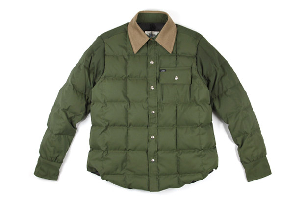 DQM x Crescent Down Works Down Shirt