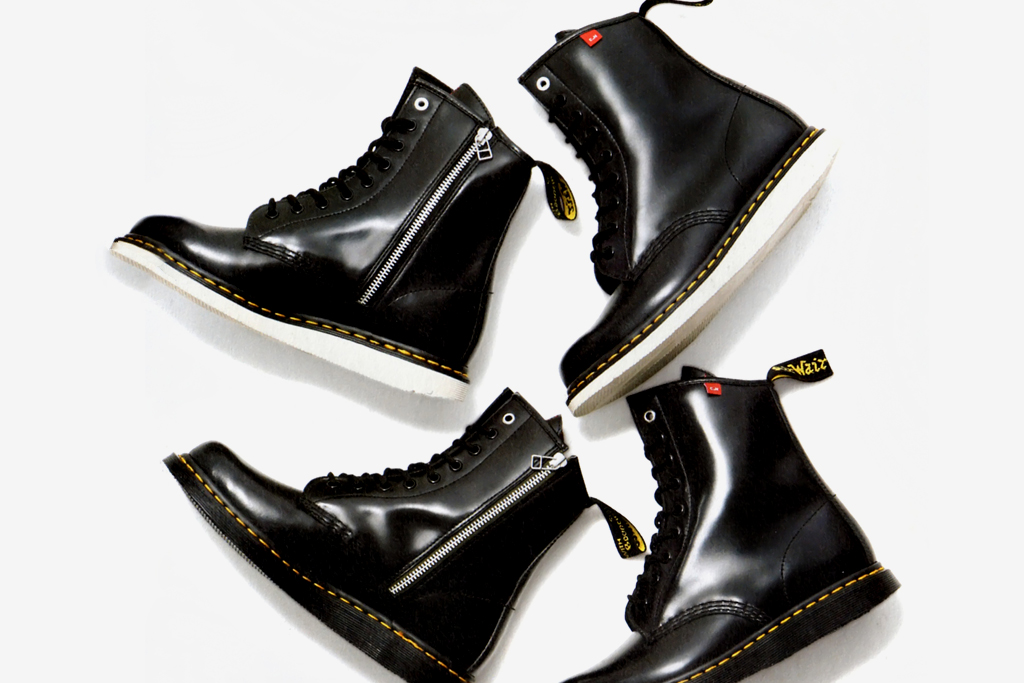 dr martens x bedwin the heartbreakers dr know boot