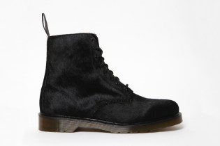 Dr. Martens Hair On Horsey 8 Eye Pascal Boot
