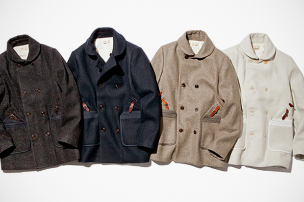 Folk 2011 Fall/Winter Wool Overcoat