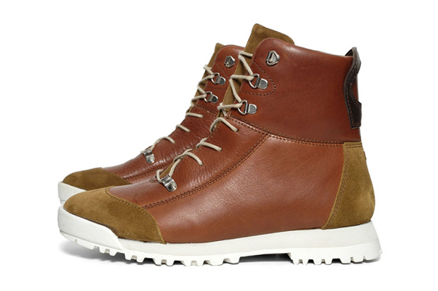 Folk Chestnut Oiled Leather Pascal Boot