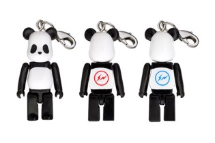 fragment design x Medicom Toy Bearbrick Panda 50%