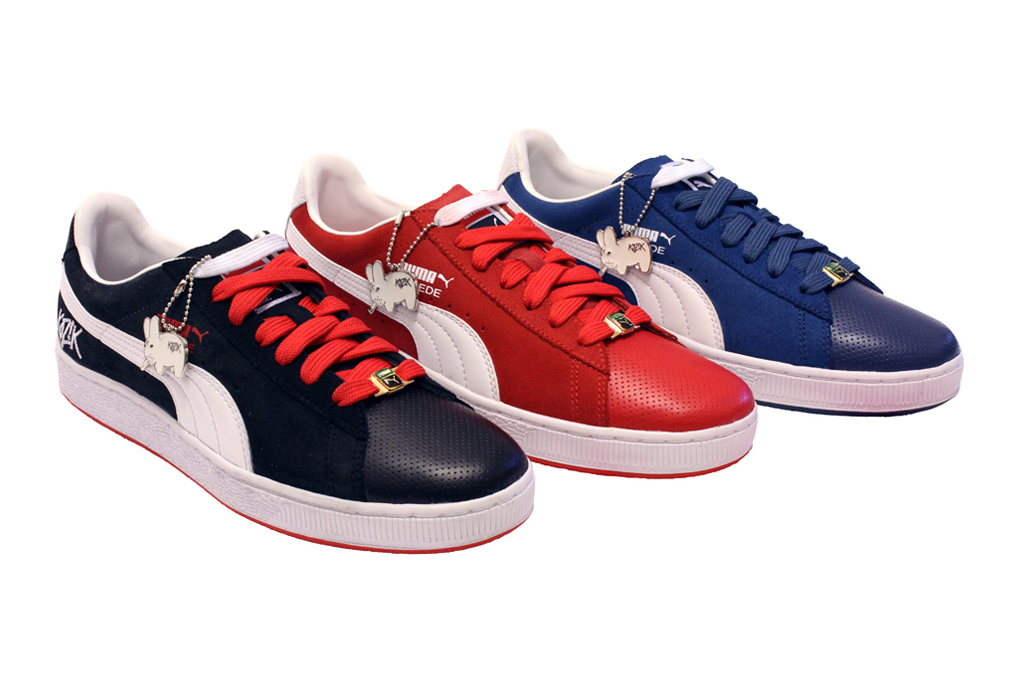 frank kozik x puma suede collection