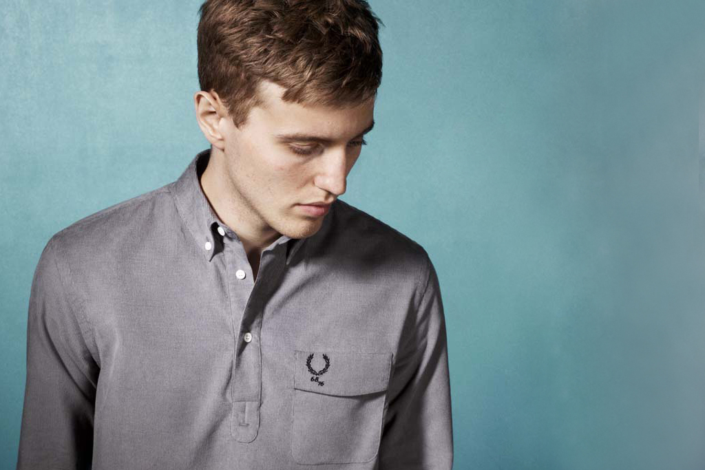 fred perry x 6876 blank canvas collection