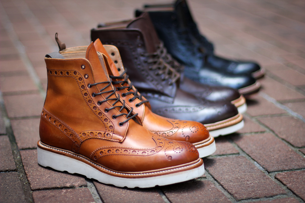 Grenson 2011 Fall/Winter Footwear New Releases