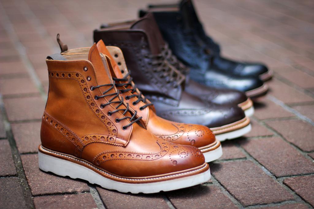 grenson 2011 fallwinter footwear new releases