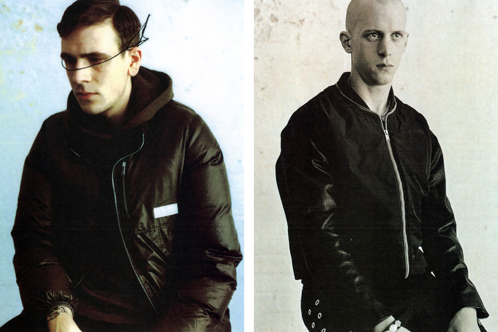 "GRIND: UNDERCOVER 2011 Fall/Winter ""The Man In The Mirror"" Editorial"