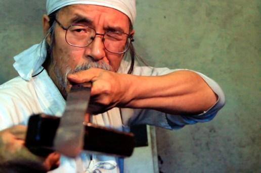 Handmade Portraits: The Sword Maker