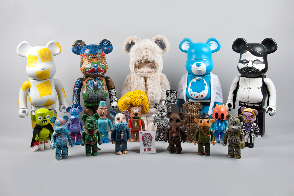 icons custom toy show custom bearbrick