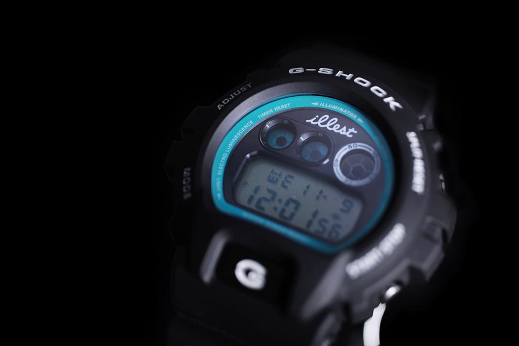 illest x casio g shock dw 6900