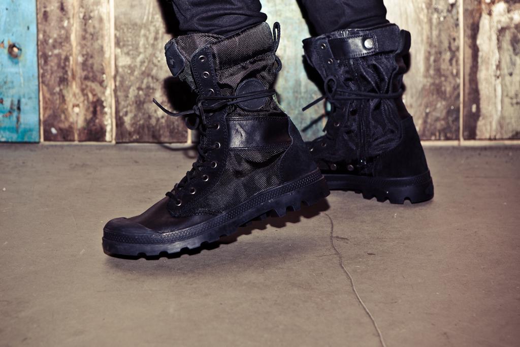 izzue x Palladium Tactical Boots