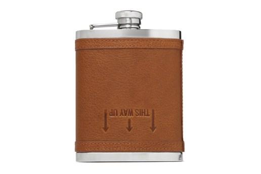 J.Crew Leather Drinks Flask