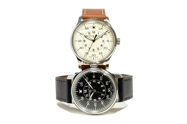 j crew x mougin piquard grande seconde watch
