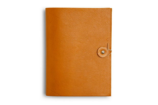j crew leather notebook