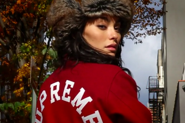 Jake Davis Test Shots: Adrianne Ho featuring Supreme Varsity Jacket
