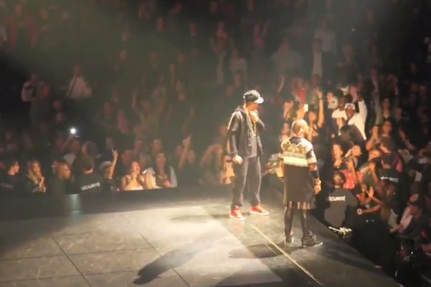 Jay-Z & Kanye West Watch the Throne in Montreal