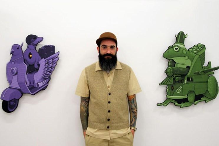 "Jeremy Fish & Kenichi Yokono ""Rise of the Underground"" Exhibition @ Mark Moore Gallery"