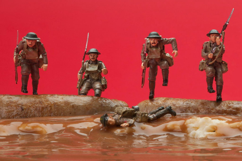 """Jim Riswold """"The War to End All Wars That Didn't End All Wars"""" Exhibition @ Augen Gallery"""