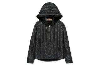John Galliano Nylon Zip-Up Parka