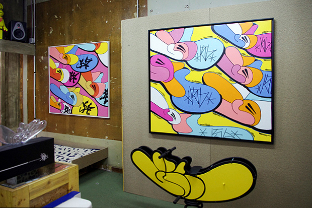 "JonOne ""Throw-Up"" Exhibition @ Blackrainbow Recap"