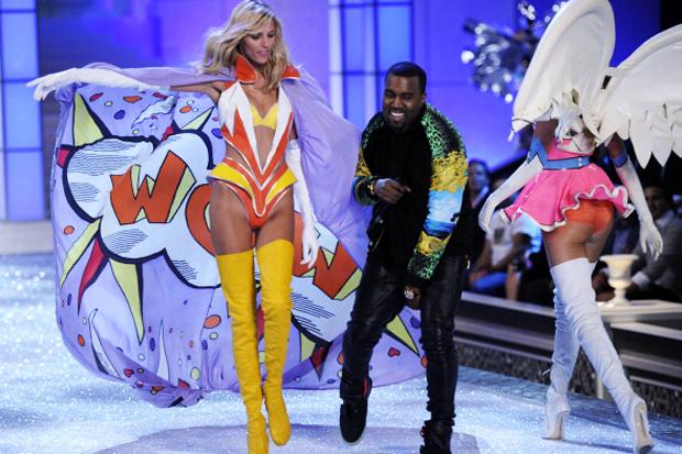 Kanye West Wears Air Yeezy 2 @ Victoria's Secret Fashion Show