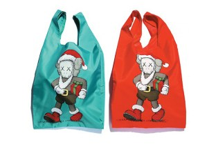 "KAWS x HARBOUR CITY x AllRightsReserved ""Santa Cross is Coming to City"" Tote Bag"
