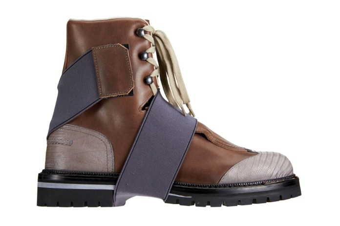 Lanvin Tall Hiking Boot