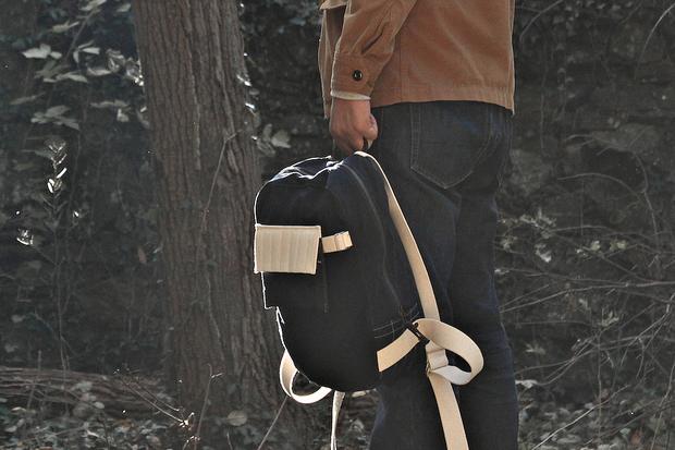 Layerxlayer Fall Utility Tote | Waxed Canvas Backpack