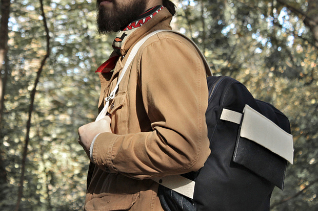 layerxlayer fall utility tote waxed canvas backpack