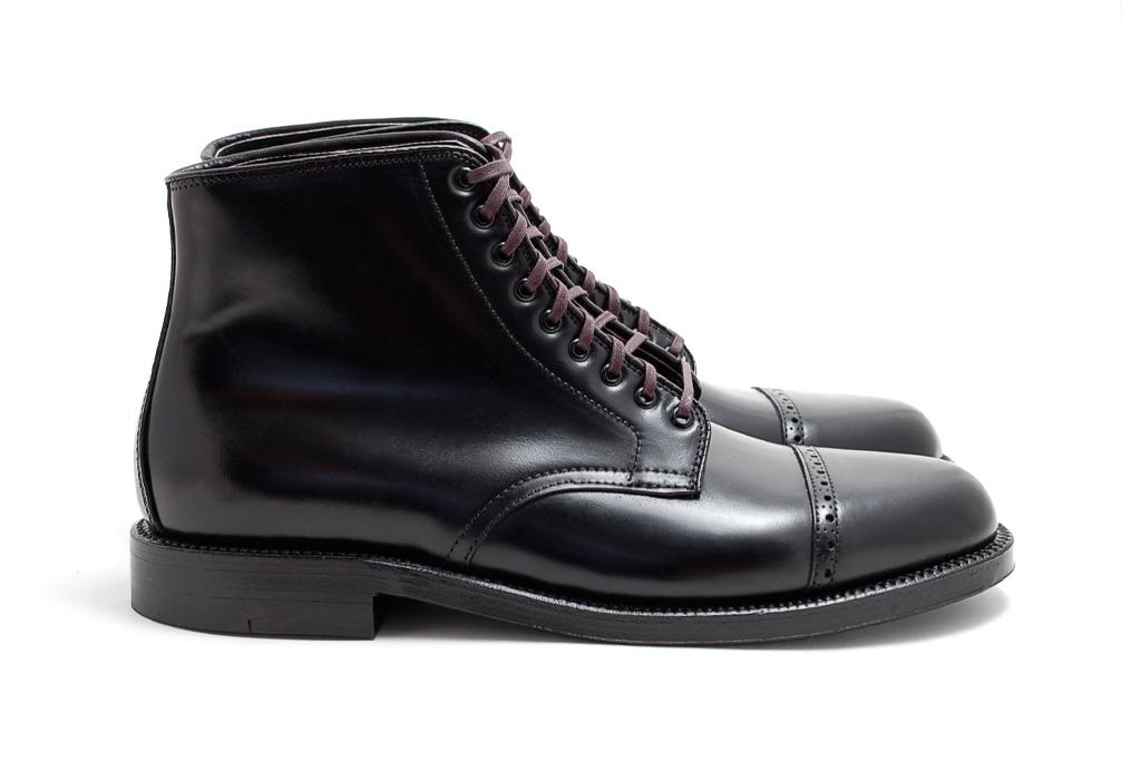 Leffot x Alden Naval Boot